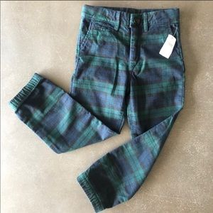 NWT Baby Gap toddler boy plaid / tartan pants 5t